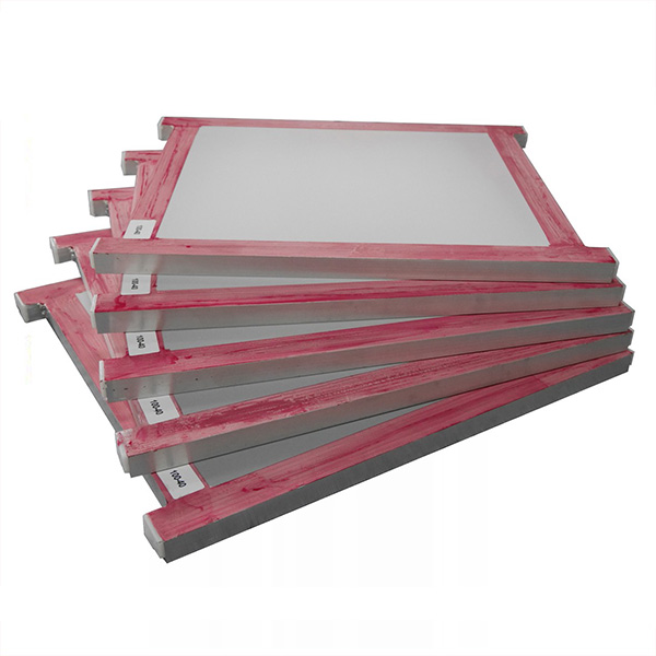 Line Table Printing Frame With Mesh