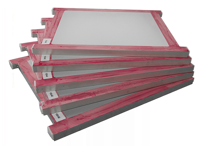 Pre-stretched running table printing frame.jpg