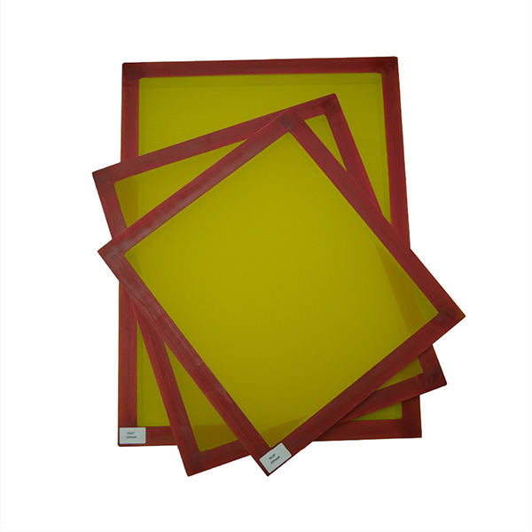 Rotary Screen Printing Frame With Mesh