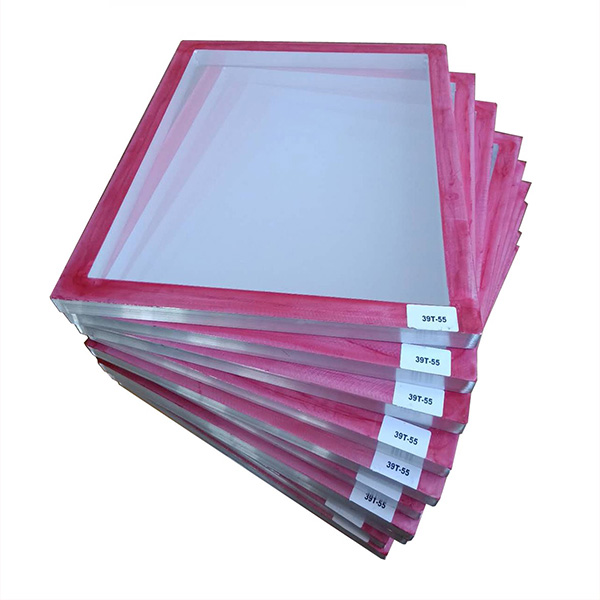 Red Glue Pre-stretched Screen Printing Frame