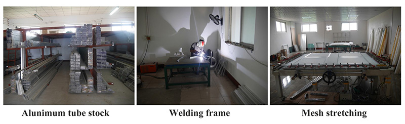 Red glue pre-stretched screen printing frame 3.jpg