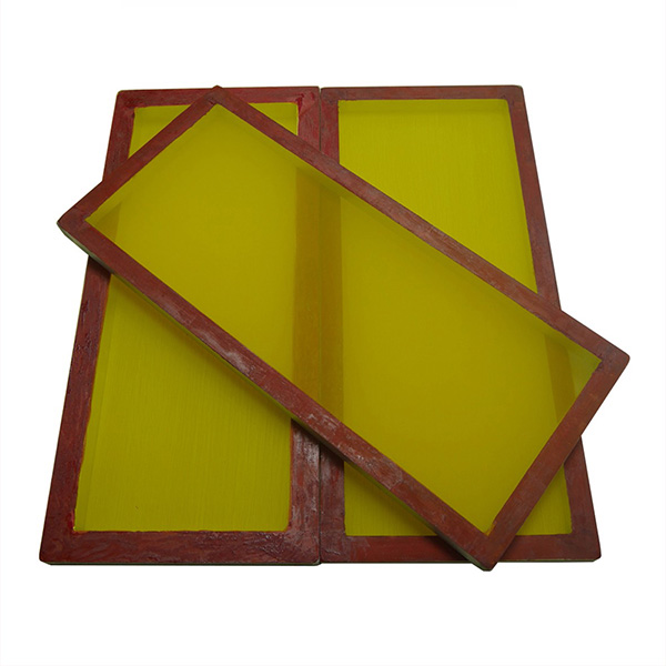 Red Glue Silk Screen Printing Frame
