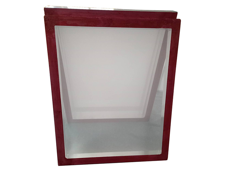 Aluminum screen printing frame for machine.jpg