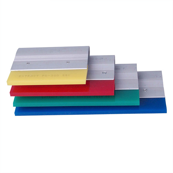 Screen Printing Aluminum Handle Rubber Squeegee