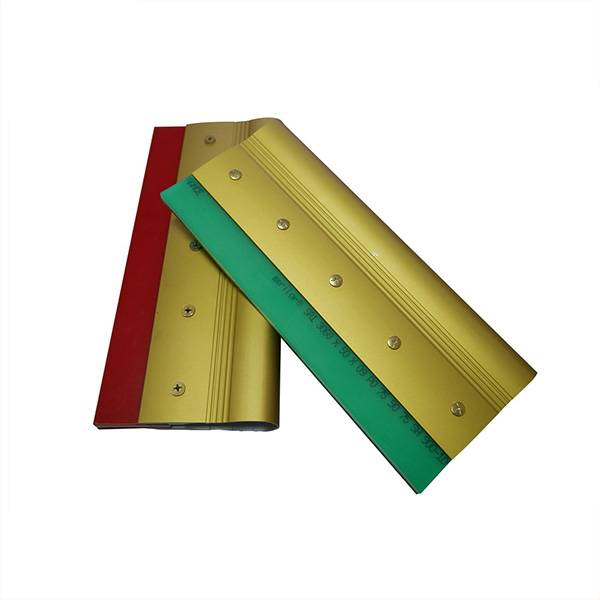 Serigraphy Aluminum Handle Rubber Squeegee